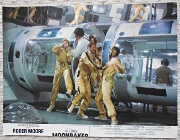 Moonraker, Original French still, Roger Moore, James Bond, Jaws, '79 (JB14)